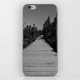 walkway through the trees iPhone Skin