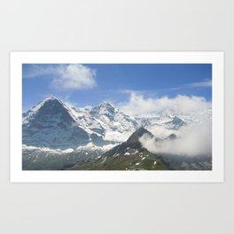 Swiss Bliss Art Print