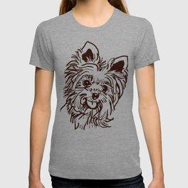 The Yorkie Dog Love of my Life! T-shirt