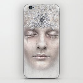 White Queen iPhone Skin