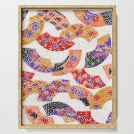 Oriental pattern Serving Tray
