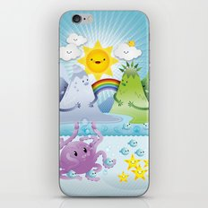 Happy land iPhone & iPod Skin