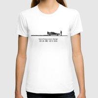 delorean T-shirts featuring DeLorean by Tony Vazquez