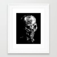 silent Framed Art Prints featuring Silent by zerobriant