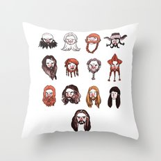 Just Dwarves Throw Pillow