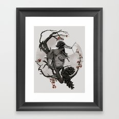 ÆFTERA YULE Framed Art Print