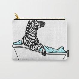 Bathtub zebra Carry-All Pouch