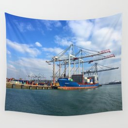 Southampton Port Wall Tapestry