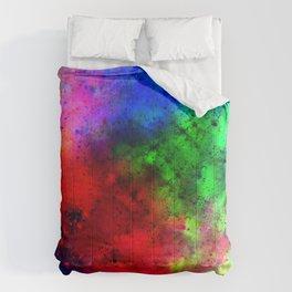 Explosive colors Comforters