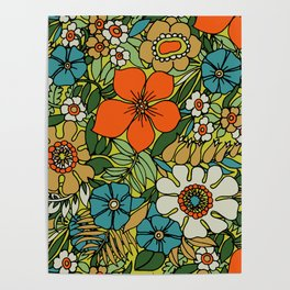 70s Plate Poster