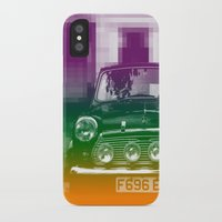 mini cooper iPhone & iPod Cases featuring Mini by Matt Wade