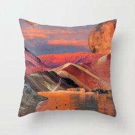 Dream Cove Throw Pillow