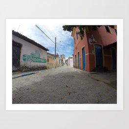 Itaparica Island, Bahia, Brazil Art Print