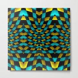 Geometric Kaleidoscope G425 Metal Print