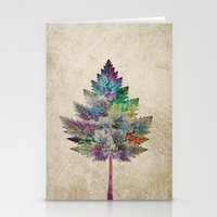 cassia beck Stationery Cards featuring Like a Tree 2. version by Klara Acel