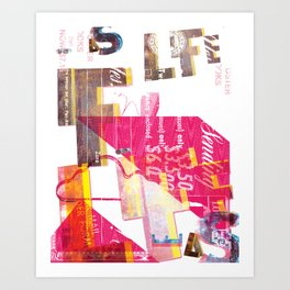 As Life is Life was Art Print
