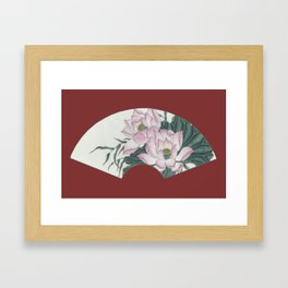 Lotus 1 Framed Art Print