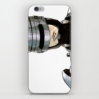 robocop iPhone & iPod Skins featuring Robocop by Nicole Cuvin