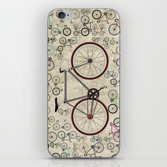 Love Fixie Road Bike iPhone & iPod Skin