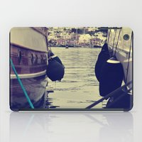 sailing iPad Cases featuring sailing by gzm_guvenc