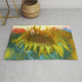 Sunflower Glow Rug