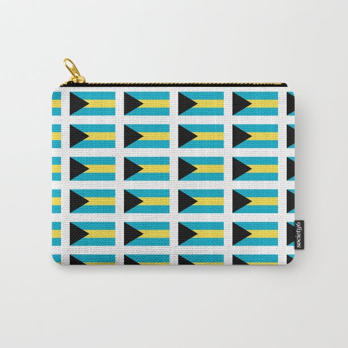flag of Bahamas – Nassau,Bahamian,Bahamianese,Junkanoo,Regattas Carry-All Pouch