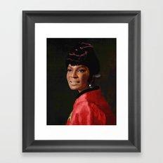 Uhura Framed Art Print