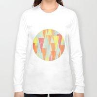 circus Long Sleeve T-shirts featuring Circus by Menina Lisboa