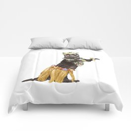 Otter the Hawaiian Dancer Comforters
