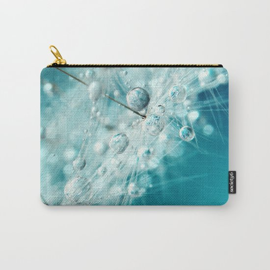 Dandy Starburst in Blue Carry-All Pouch
