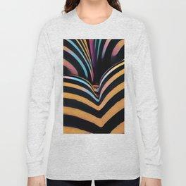 2026s-AK Striped Body Curves by Chris Maher Long Sleeve T-shirt