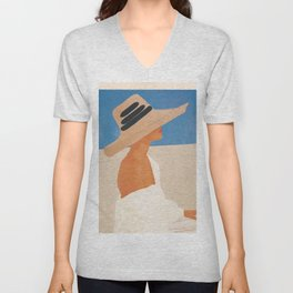 Summer Hat Unisex V-Neck