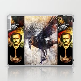 Edgar Allan Poe Laptop & iPad Skin