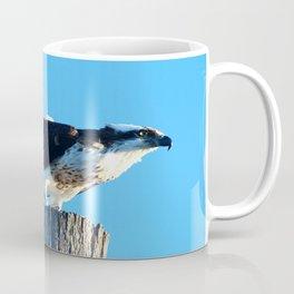 Osprey On A Pole Coffee Mug