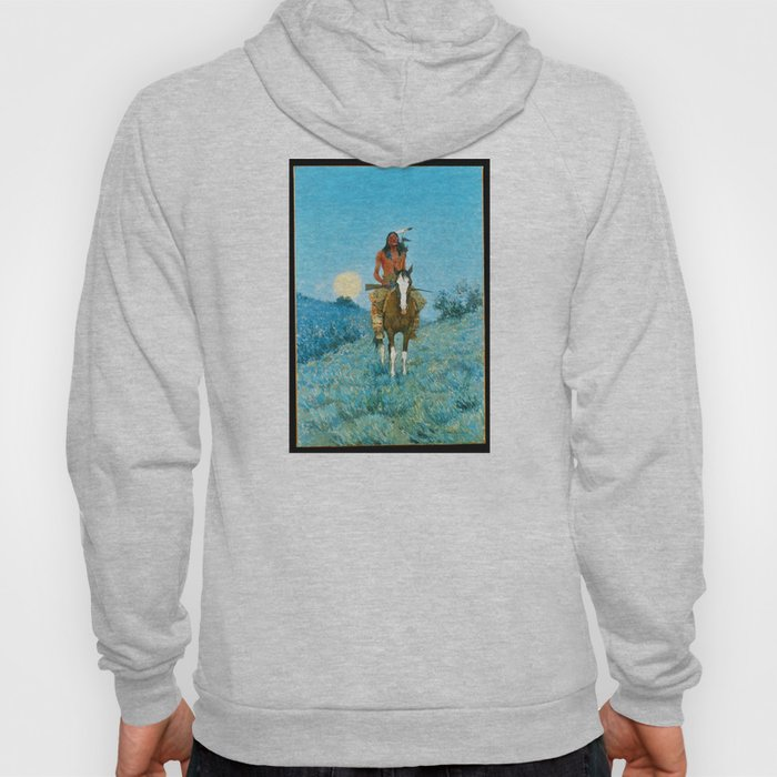 The Outlier by Frederic Sackrider Remington Hoody