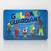 guardians of the galaxy iPad Cases featuring Galaxy of Guardians by DoodleHeadDee