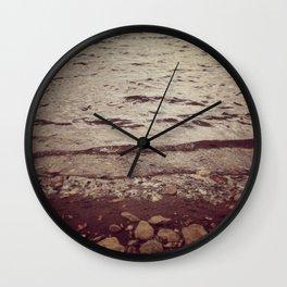 Wyoming Beaches Wall Clock