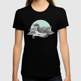 Poisonous Dragon-Teal Palette T-shirt