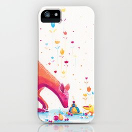 Princess Kangaroo Art Print - Armadillo's Generous Offering iPhone Case