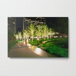 CHRISTMAS IN HOLLYWOOD - day three color Metal Print