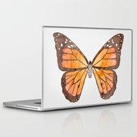 nirvana Laptop & iPad Skins featuring Caterpillar's nirvana by Benjamin Castle