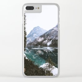 Woodland Wanderer Clear iPhone Case
