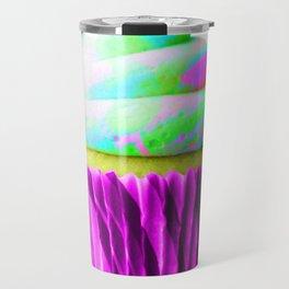 Neon Cupcake Travel Mug