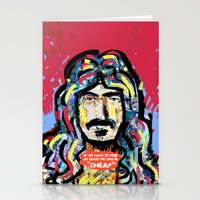 zappa Stationery Cards featuring Zappa by Tolga Hirsova