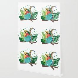 Lemur Jungle Nature Wallpaper