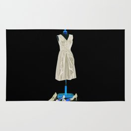 Mannequin with Shoes Rug
