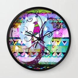 In a Pear Tree Wall Clock