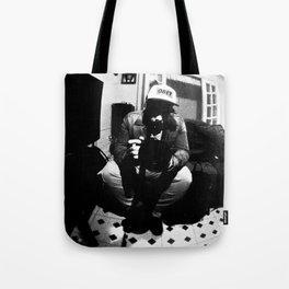 Johan B & W Tote Bag
