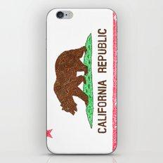 MADE IN CALIFORNIA iPhone & iPod Skin