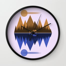 Bear & Cubs Wall Clock